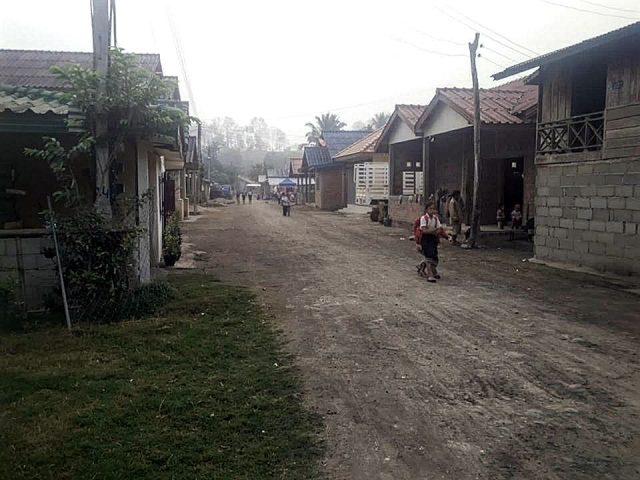 vie petit village laos