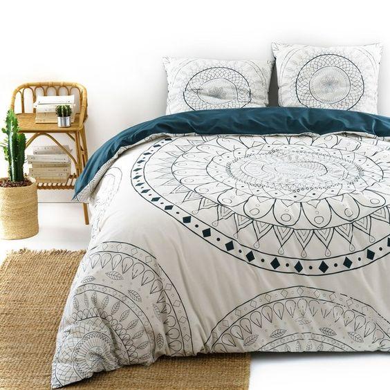 deco linge de lit motif mandala