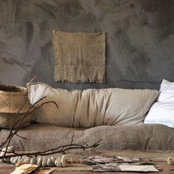 deco tendance wabi sabi textile tissus salon