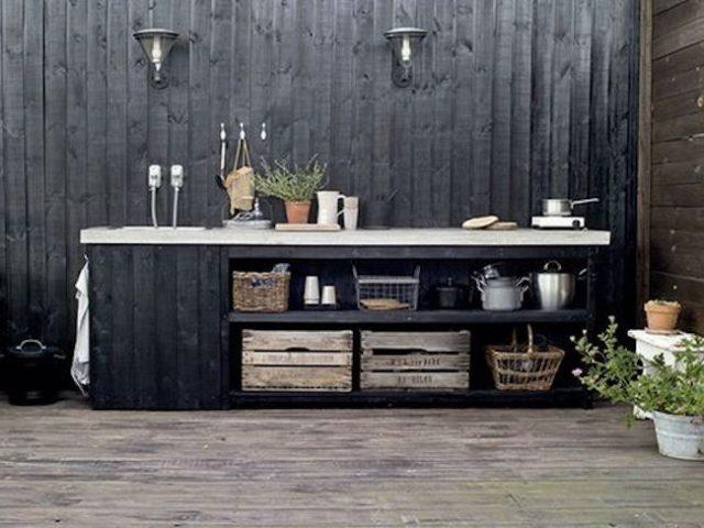 inspiration deco jardin cuisine exterieure