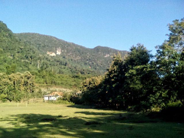 laos muang ngoi paysage montagne vegetation