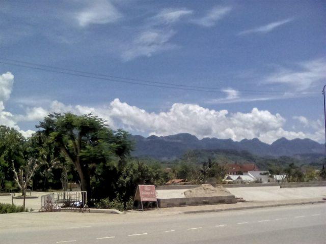 luang prabang montagne nuage ville