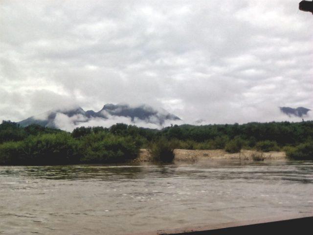 nuage montagne paysage nature laos