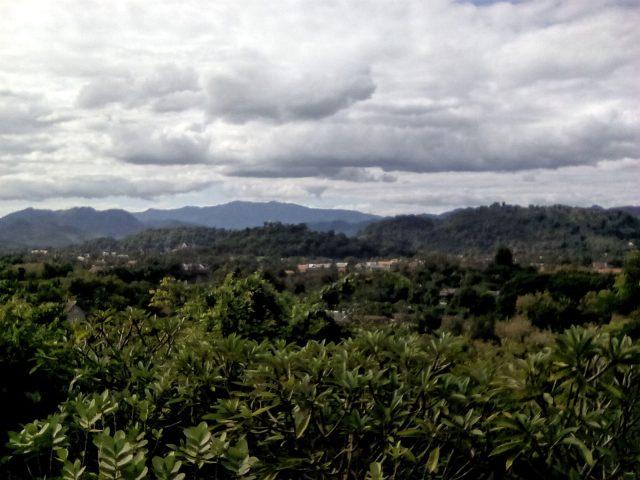 panorama laos luang prabang laos nature
