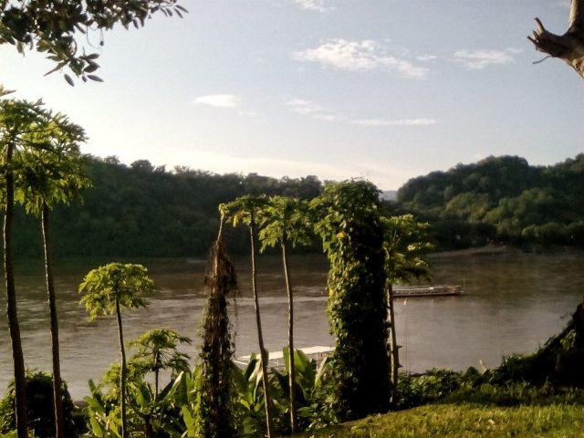 paysage mekong luang prabang