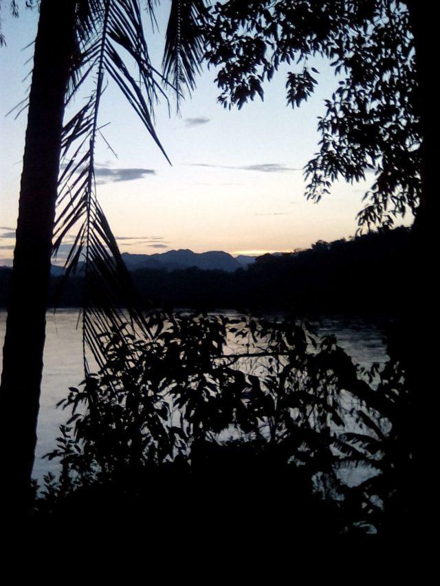 paysage montagne laos nord mekong