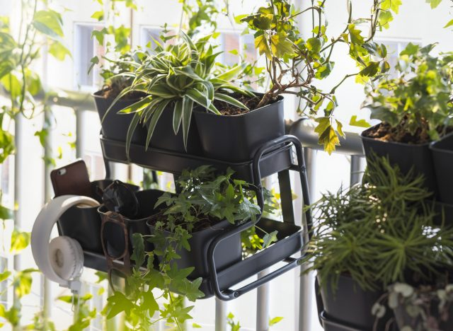 petite jardiniere deco balcon ikea