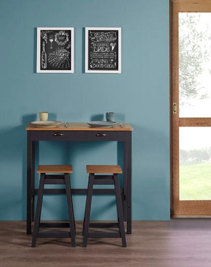 table bar petit espace cuisine