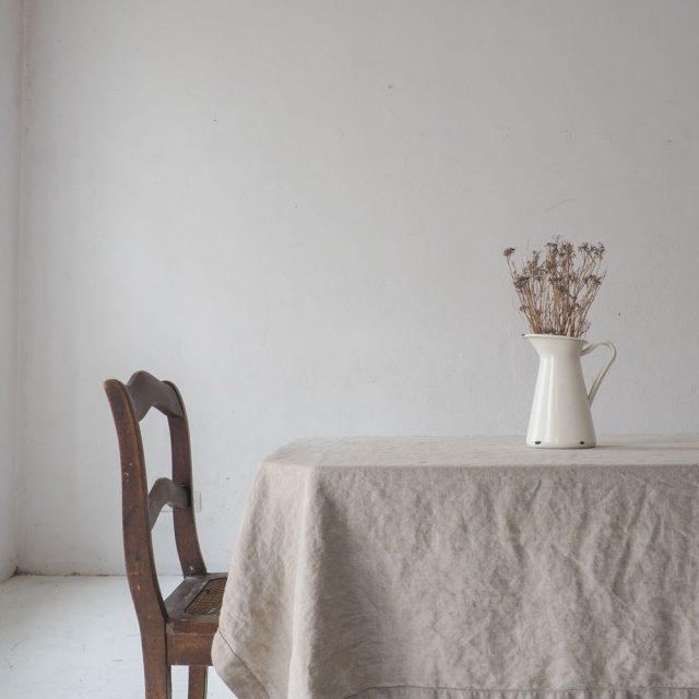 wabi sabi textile salle a manger decoration