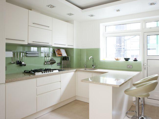 inspiration decoration dinterieur cuisine vert menthe