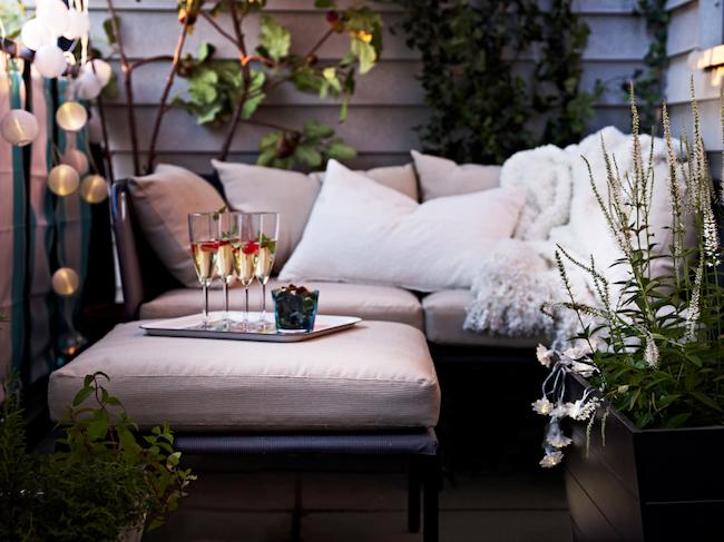 inspiration idee deco balcon cosy