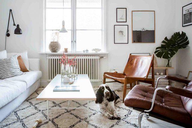 petit salon deco fauteuil vintage
