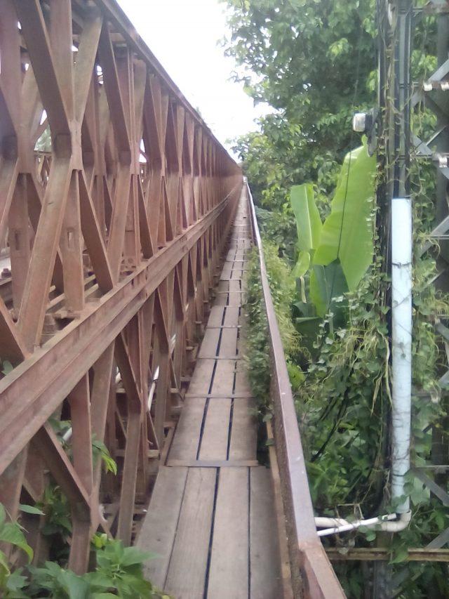 pont en bois laos luang prabang