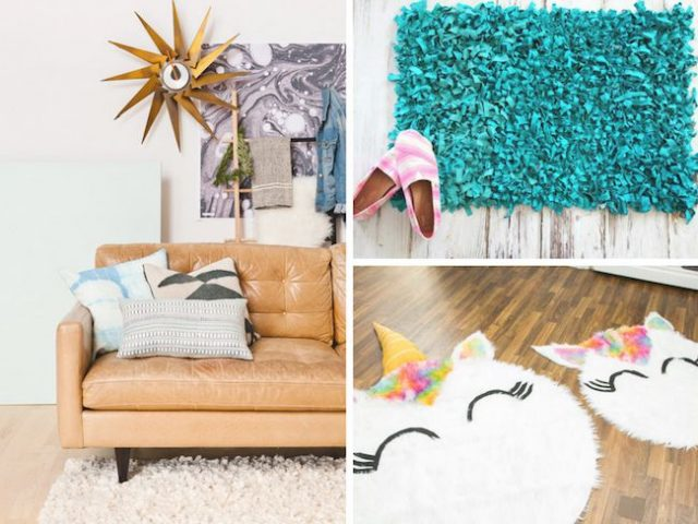 5 diy tapis facile deco