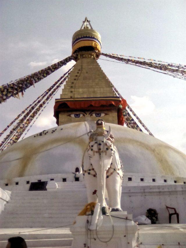 bouddanath stupa nepal visite voyage