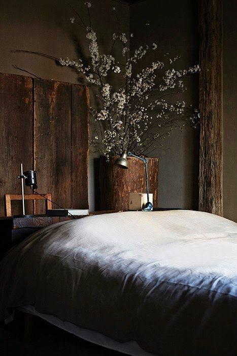 chambre deco wabi sabi tendance bois et nature