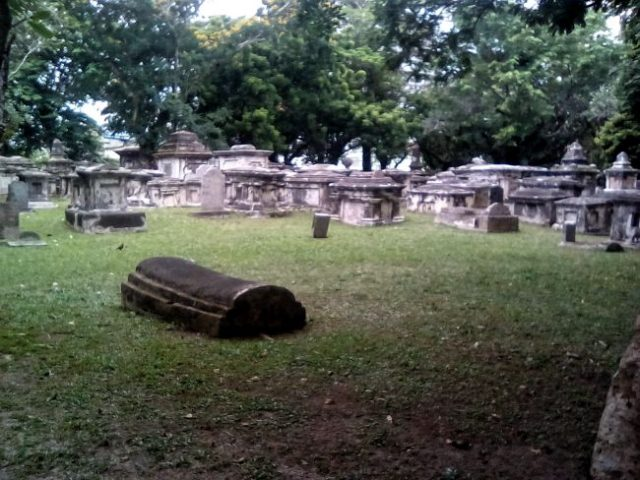 cimetiere colonial malaisie georgetown