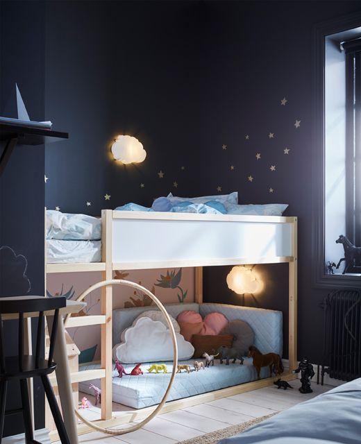 deco chambre enfant veilleuse nuage