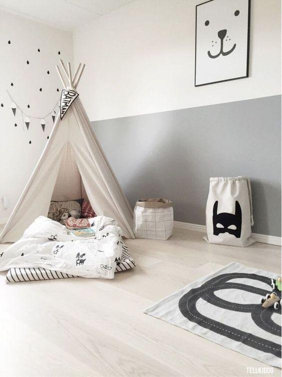 deco chambre tapis enfant