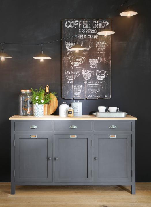 deco murale affiche cuisine deco cafe