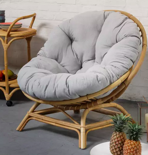 fauteuil rotin confort salon