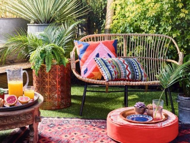 les indispensables d co pour un jardin boh me cocon d co vie nomade. Black Bedroom Furniture Sets. Home Design Ideas