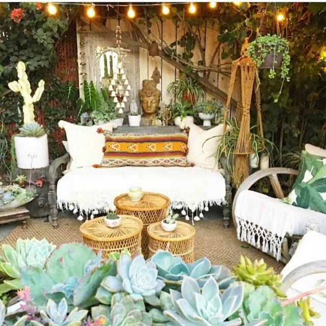 Les Indispensables Deco Pour Un Jardin Boheme Cocon Deco Vie