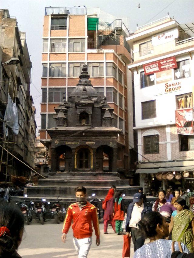 katmandou nepal voyage vieille ville temple