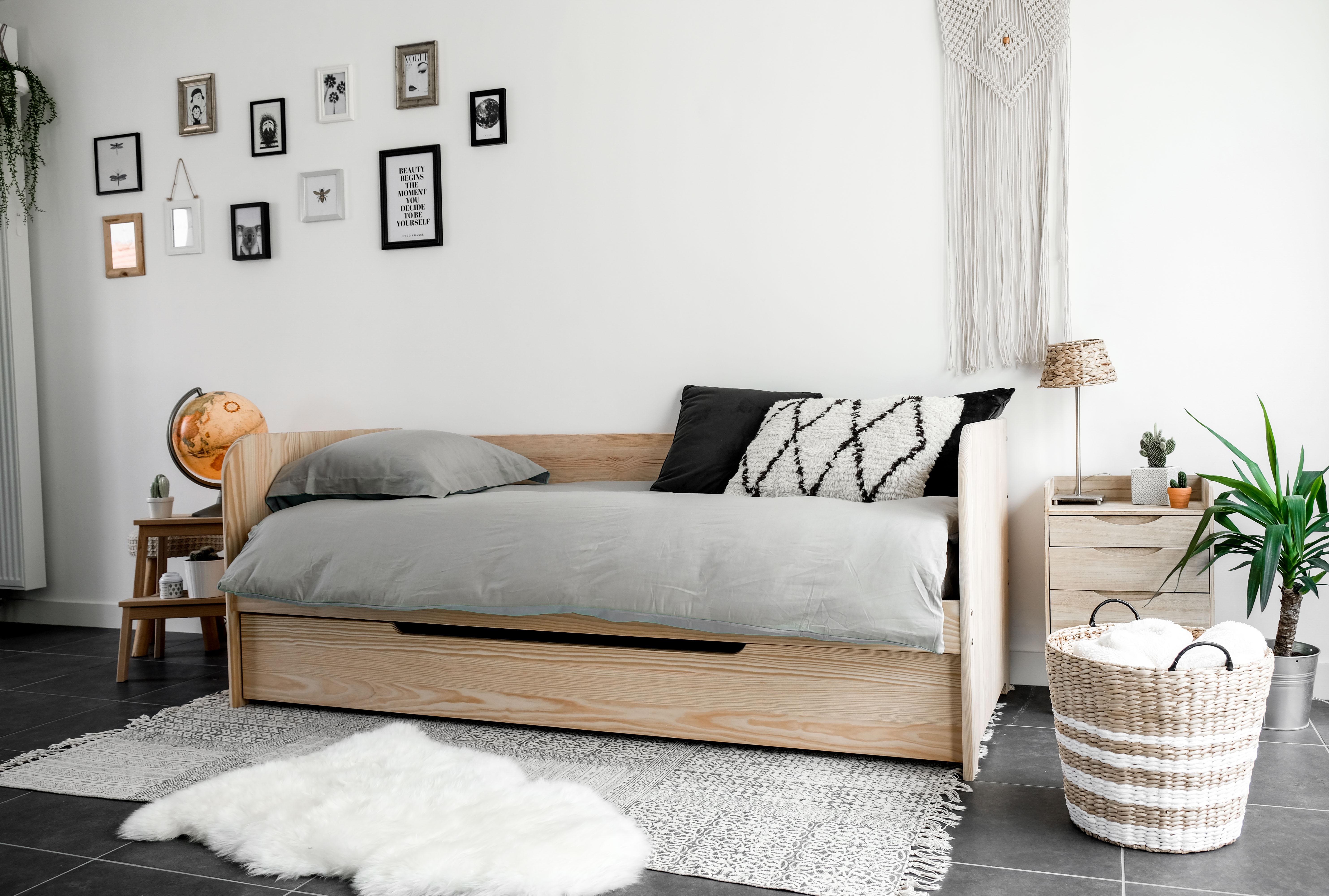 Comment optimiser l 39 espace dans une petite chambre cocon d co vie nomade - Blog couture deco maison ...