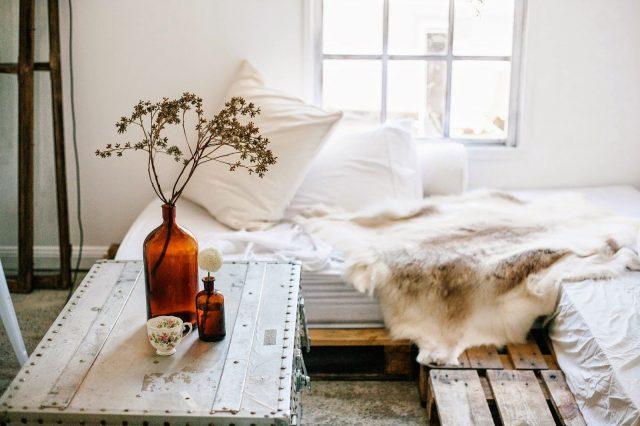 minimalisme chambre wabi sabi