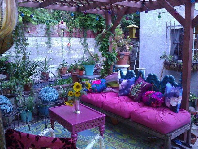 mobilier deco boheme jardin