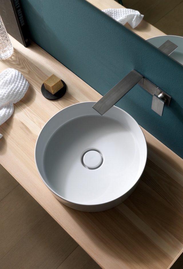 petite vasque ronde salle de bain