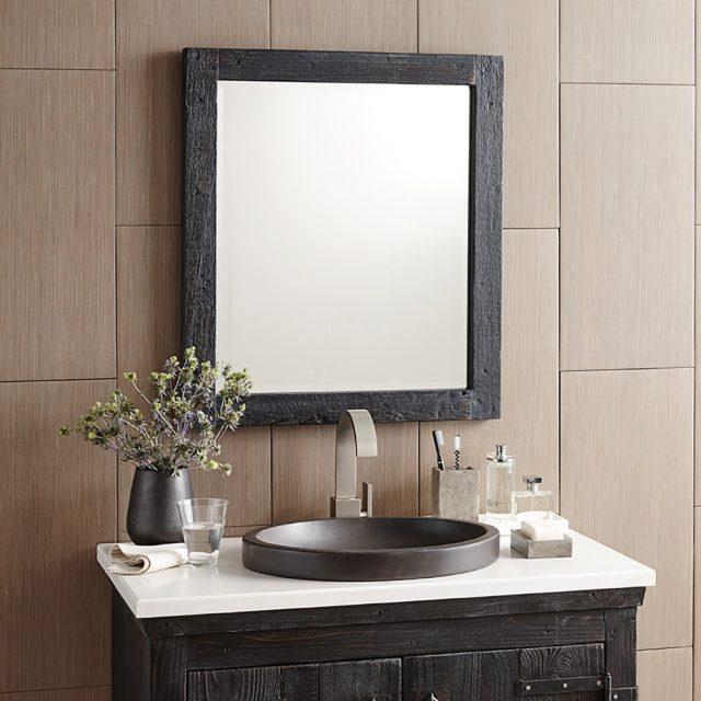 vasque decoration salle de bain nature