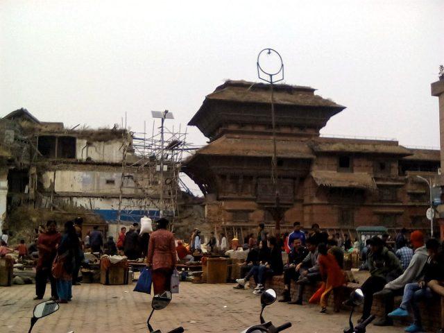 vieille ville katmandou voyage