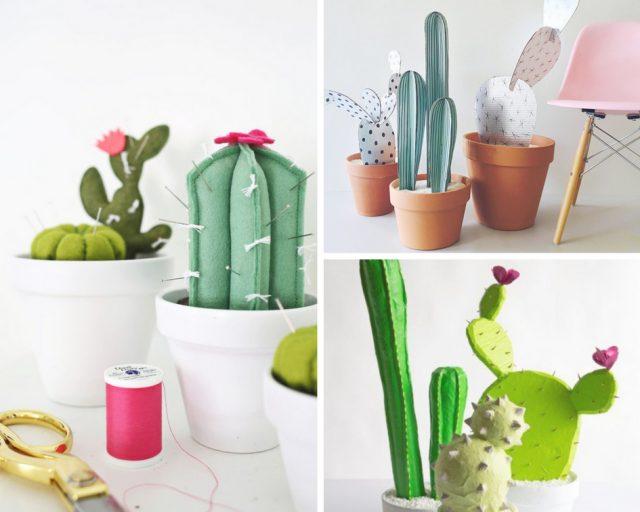 5 diy cactus deco facile