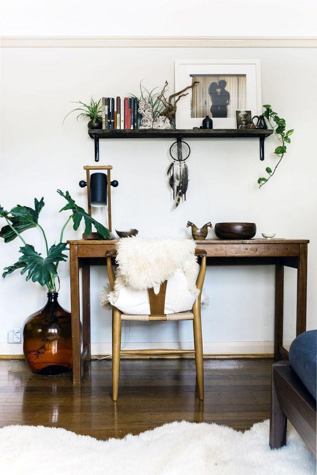 bureau style kinfolk plantes decoration interieure