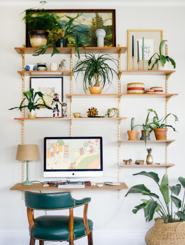deco bureau plantes kinfolk