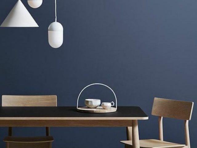 deco inspiration salle a manger bleue