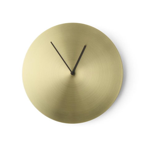 horloge deco bureau or