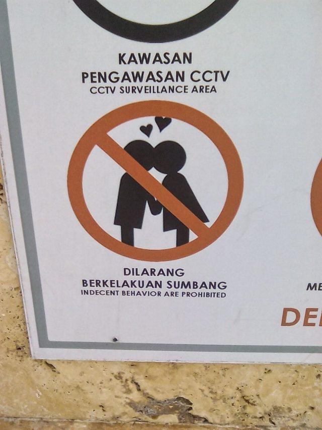 kuala lumpur regle a respecter pas de bisous