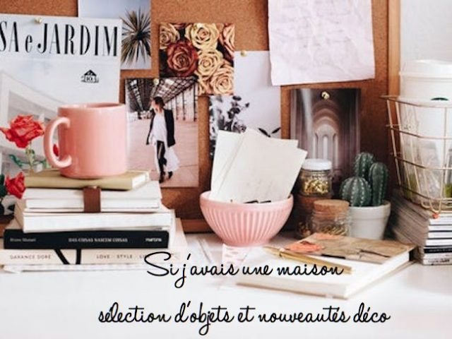 nouveauté deco objets et mobilier