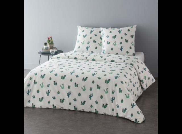 parure de lit cactus deco chambre