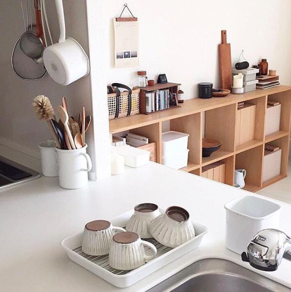 inspiration d co pour une cuisine organis e cocon d co vie nomade. Black Bedroom Furniture Sets. Home Design Ideas