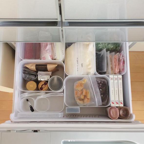 rangement cuisine tiroir idee