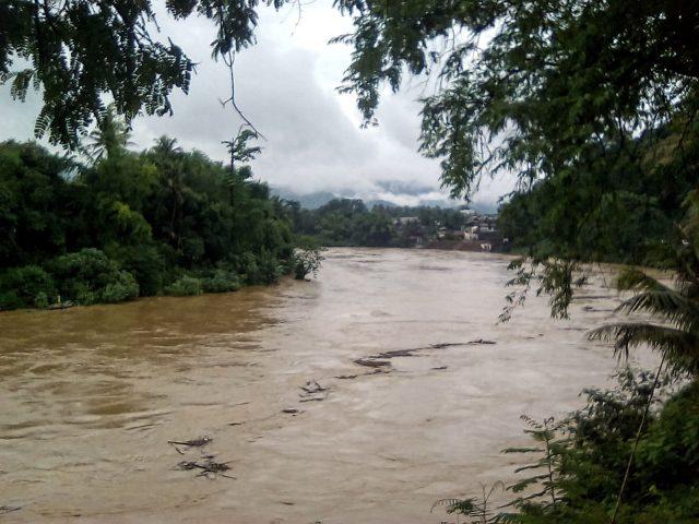 riviere saison des pluies laos luang prabang