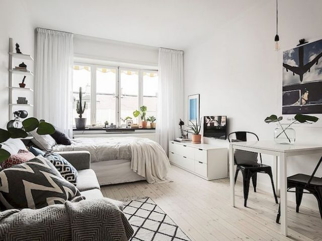 les indispensables pour meubler son premier appartement. Black Bedroom Furniture Sets. Home Design Ideas