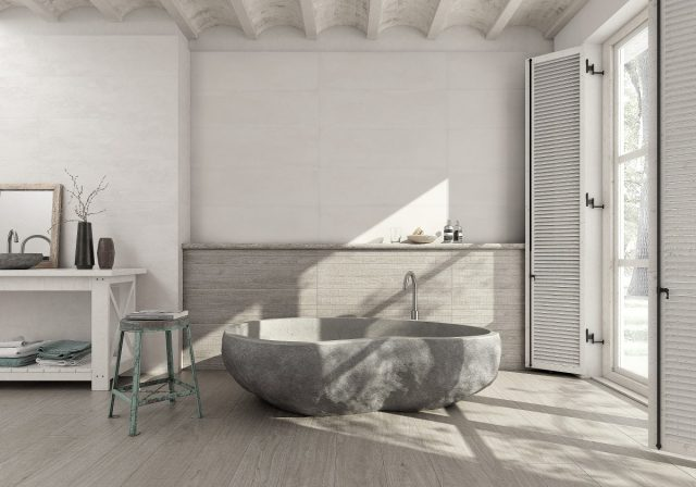 deco ambiance wabi sabi salle de bain moderne