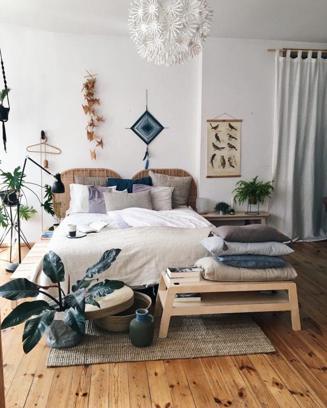 Inspiration - Une chambre dans le style Urban Jungle | Cocon - déco ...