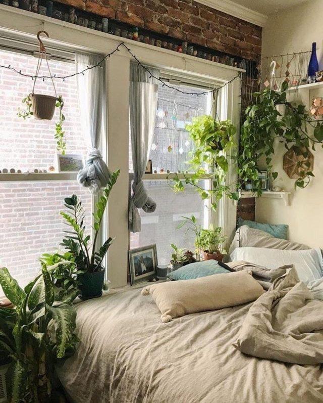 Inspiration une chambre dans le style urban jungle cocon d co vie nomade - Plante dans la chambre ...