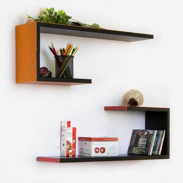 etagere design fixation invisible